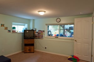 Coquitlam daycare facility | Stars Childcare TV room