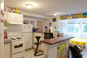 Coquitlam daycare facility | Stars Childcare kitchen