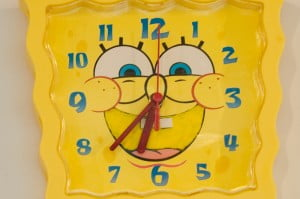 Coquitlam daycare facility | Stars Childcare clock